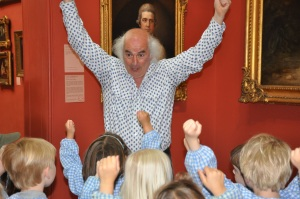 Roberto, Dulwich Picture Gallery