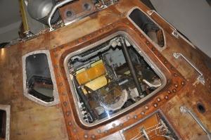 Apollo 10 landing capsule