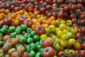 tomato stall