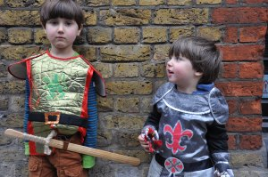 knights at the Tower of London
